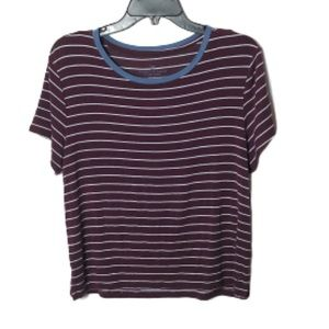 American Eagle Outfitters soft striped tee T-shirt